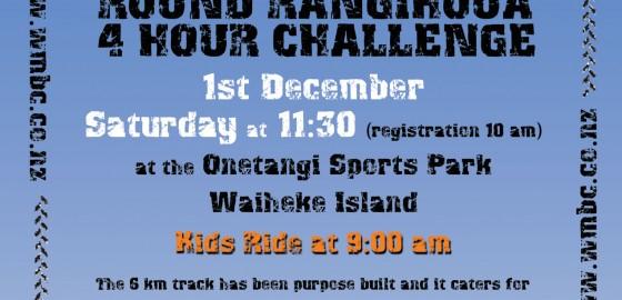 Round Rangihoua Challenge 2012 Poster