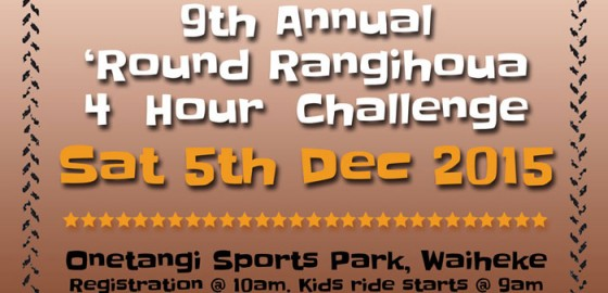Waiheke Mountain Bike - Round Rangihoua